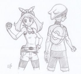 May And Brendan Sketch by X-Cross