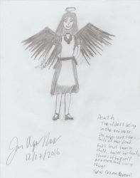 The Angel of Death in All Her Dorkiness by JamieAgathaRose