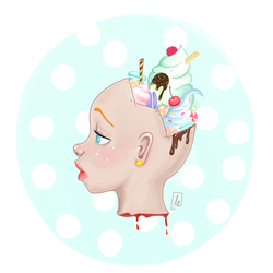 Candy Head by tertunni