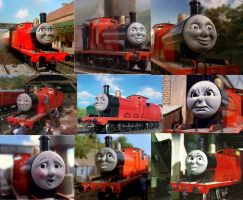 James the Red Engine by Gadgetnatic83