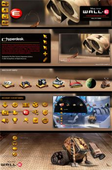 WALL-E for PlayStation Systems by skinsfactory