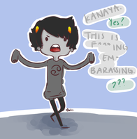 KANAYA STOP BEING STUPID. by abdomen94