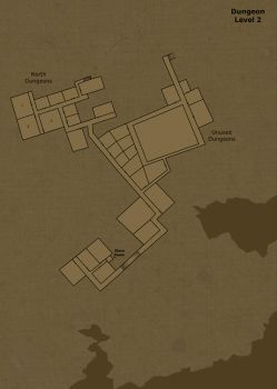 Dungeon level 2 by Hogwarts-Castle