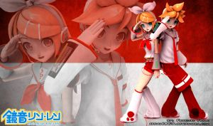 Kagamine Merah Putih wallpaper by fahmi4869