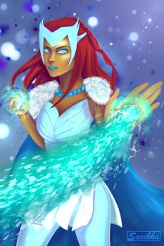 Ice Queen by sarikha