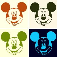 Disney pop art Mickey Mouse by DevintheCool