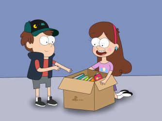 Unboxing Memories (6 Years of Gravity Falls) by 04StartyCornOnline88