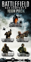Bad Company 2 - Icon Pack by Crussong