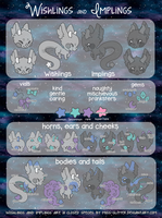 A Guide to Wishlings and Implings by Miss-Glitter