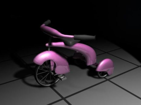 My First Tricycle by feline-soul