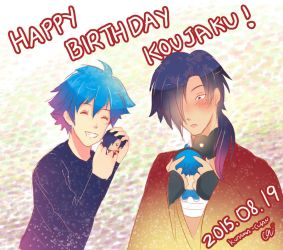 Koujaku Birthday 02 by Kurama-chan