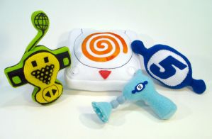 Dreamcast Music Game Plush by Lithe-Fider