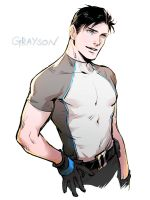 Grayson by Haining-art