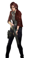Claire Redfield-RE Revelations 2 PNG 1 by Isobel-Theroux