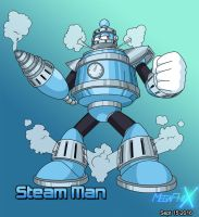Steam Man by MegaPhilX