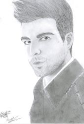 Collaborated Zach Quinto by fpom