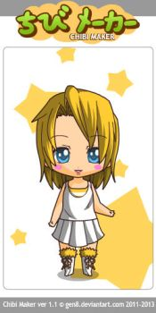 Toy Chica Human Chibi by JackieCronefield