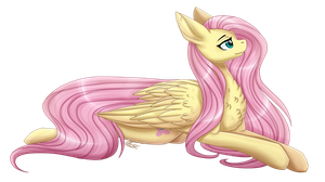 Fluttershy [+Speedpaint] by InspiredPixels