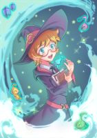 Lotte - Little Witch Academia by LeoFoxArt