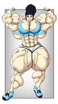 Lilly - Double Bicep by FudgeX02