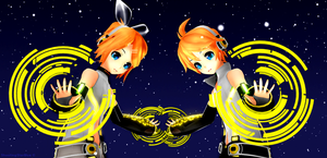 Kagamine power  by ShootingStarBlue