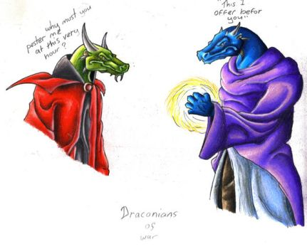 draconians of war by Dragon2007