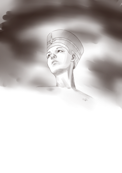 Sketching-to-music Part 1 / 6 - Egypt by Scilentor