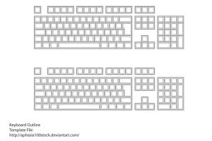 Keyboard Layout Source File by aphasia100stock