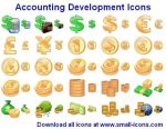 Accounting Development Icons by Ikont