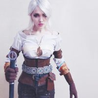 The Witcher - Ciri WIP by Fluorescence911