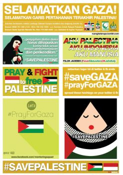 Stiker Save Palestine by syahidsund