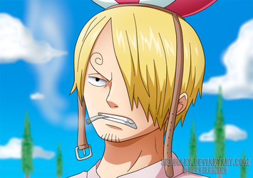OnePiecectober, day 5: Sanji by SergiART