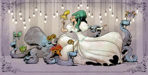 Otto and Victoria go to the ball. by BrianKesinger