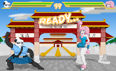 Fur Fighters - China - InGame Ready Screen by RunningToaster