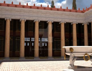 Ovid's Peristyle by Asdaricus