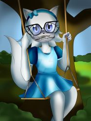 Arctic the Timberwolf - Braceface girl by ShawtyWhiite