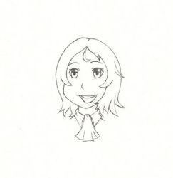 Alice Headshot Sketch by Mike16r