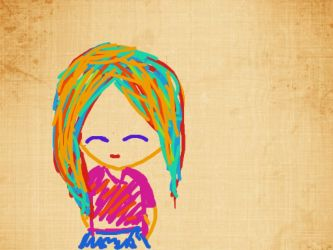 Colorful Hair by fantagerocks2013
