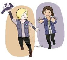 Violet And Clementine twdg by xelAcim