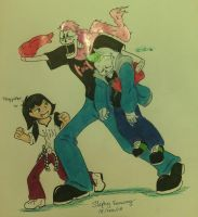 Markirus and septicsans ft Teagiplier by DragonGoddess7
