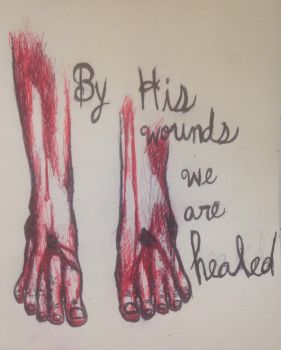 His Holy Wounds by swiftcross