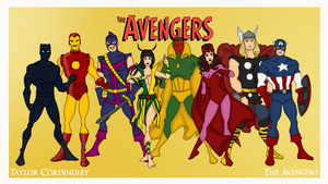 The Avengers - The Celestial Madonna Era by Femmes-Fatales