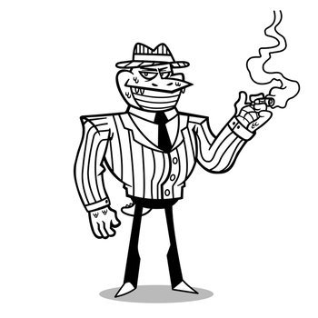 The Don (Lineart) by CrownCreative