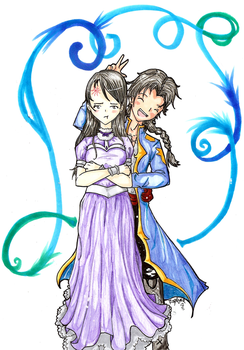 Lily and Andresh by Forever-Nocturne