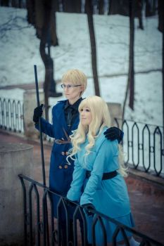 FINLAND X SWEDEN (APH) cosplay by CrystalArwen