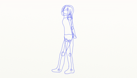 Walking Animation Practice by cheezyrules016