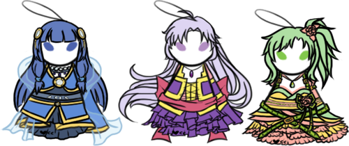 Charms for Kyoko by serkunet
