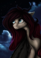 Clouds, Night and Areo by GloriaJoy