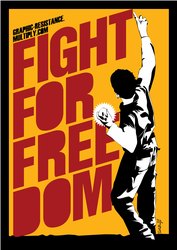 Fight For Freedom by graphic-resistance