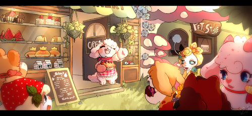 strudel banner contest entry by sugaryu